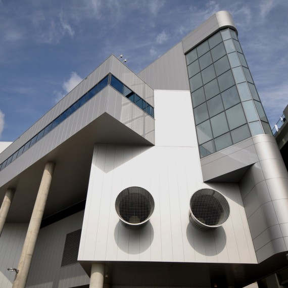 Architecture | MHJIT Exterior East Elevation