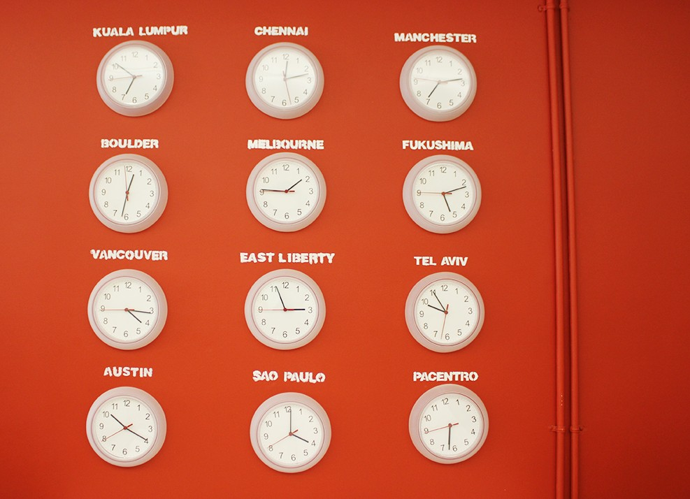 Do Cities Need Innovation Offices img Wall Clocks indicating World Time