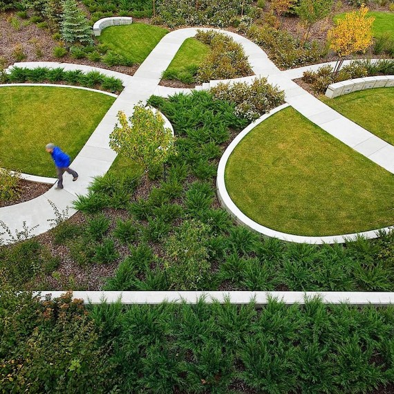 Aerial view of Landscape Architectures