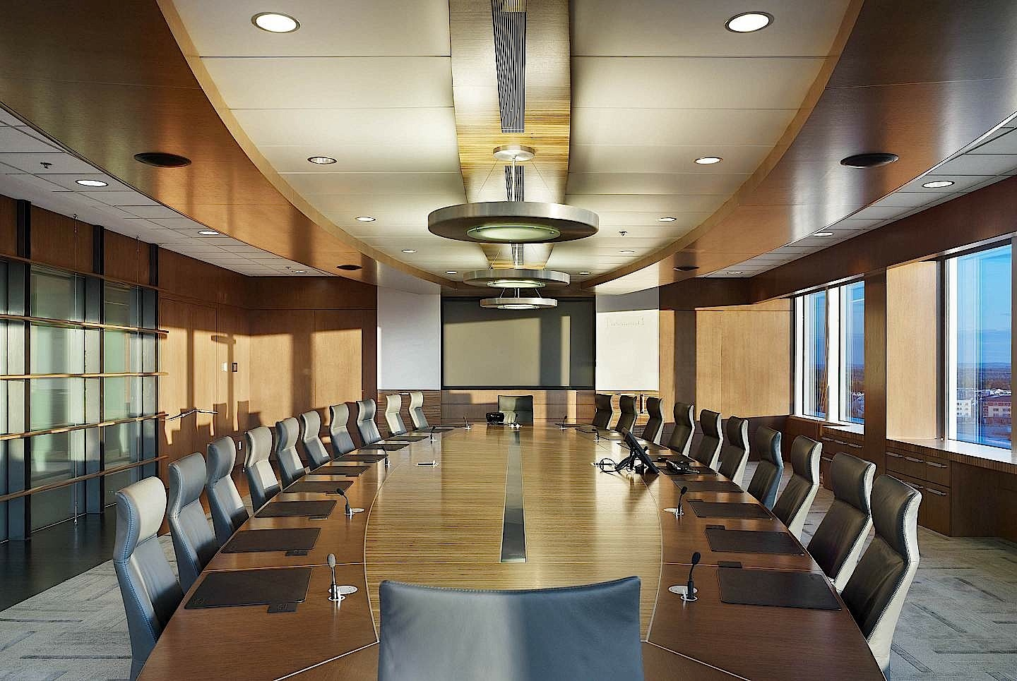 About Duckett Design Group / Image of a boardroom
