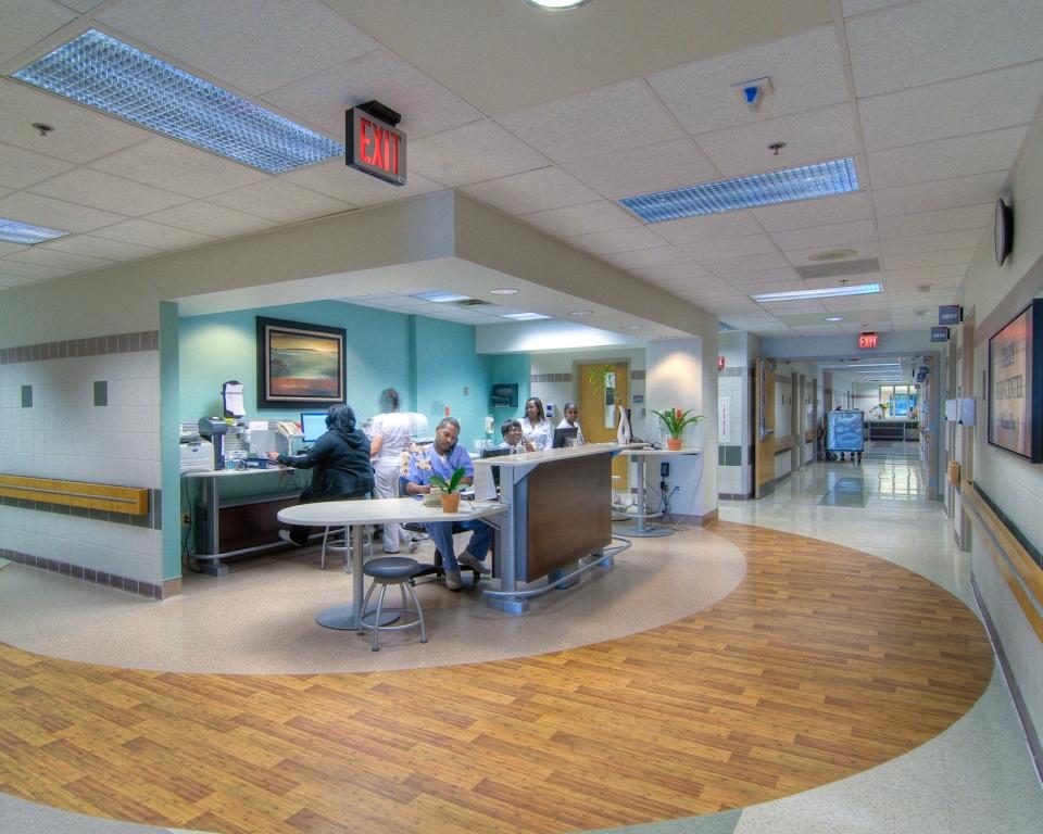 Grady Burn Unit | Nurses Station